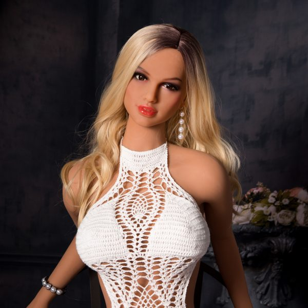 YB-00021 158cm Small Chest Yellow Skin Blond Hair Sex Doll