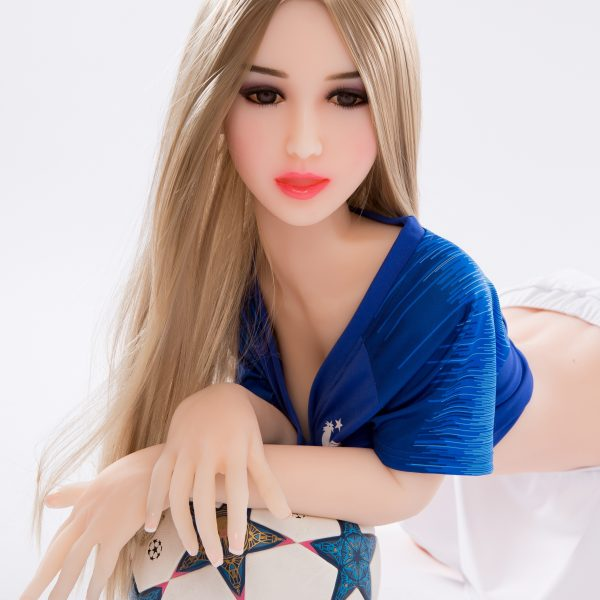 YB-00007 158cm Big Breast Blonde Skin Blonde Hair Sex Doll