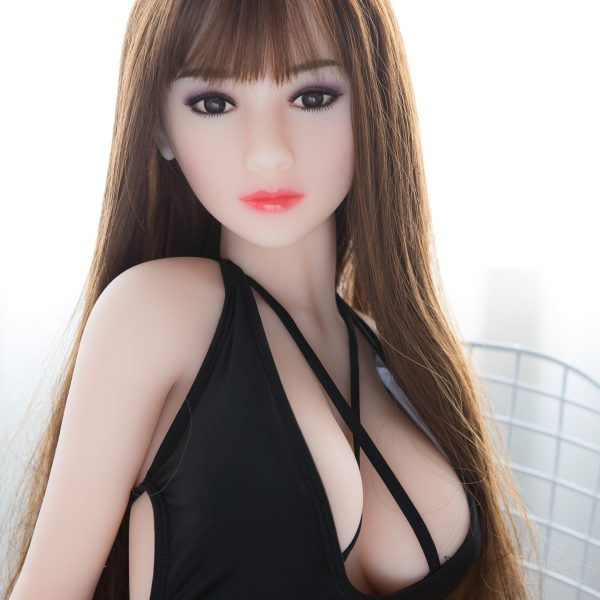 YB-00006 148cm Big Breast Blonde Skin Brown Hair Sex Doll