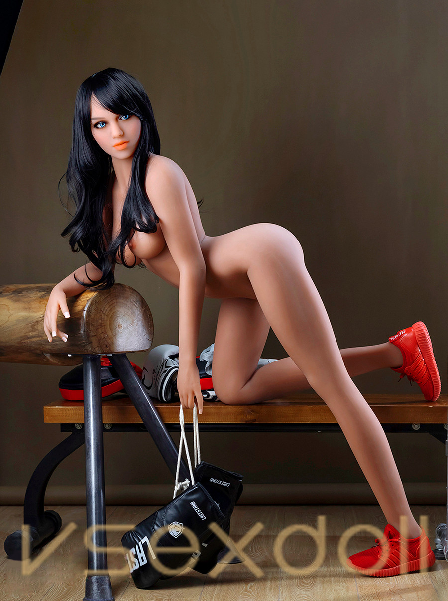 166cm Black Hair And Brown Skin Fitness Hot And Sexy Sex Doll
