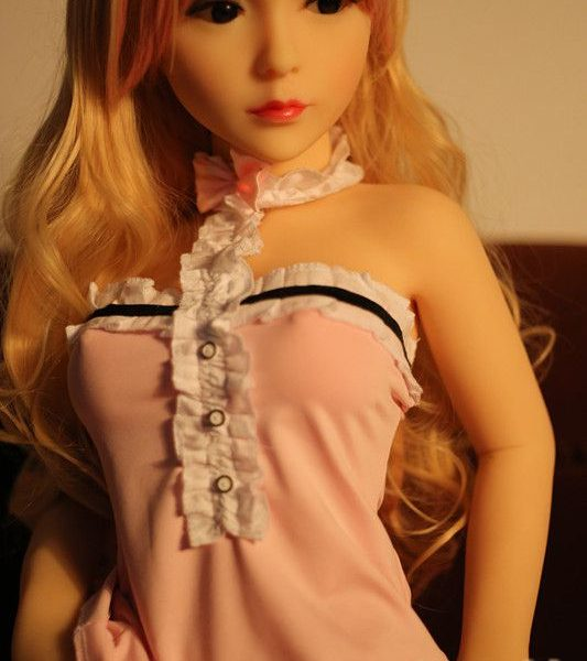 Ascetic Girl With Blond Hair And Mini Big Eyes Blonde Sex Doll