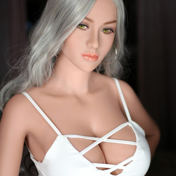 Sexy Gray Hair Big Breasts Big Eyes Black Sex Doll