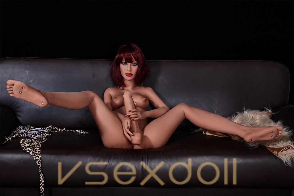 155cm Mia Shemale Brown Hair Small Tits Big Cock Black Sex Doll