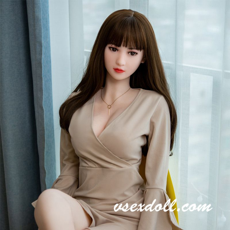Pure Brown Long Hair Small Breasts Sexy Skinny Blonde Sex Doll