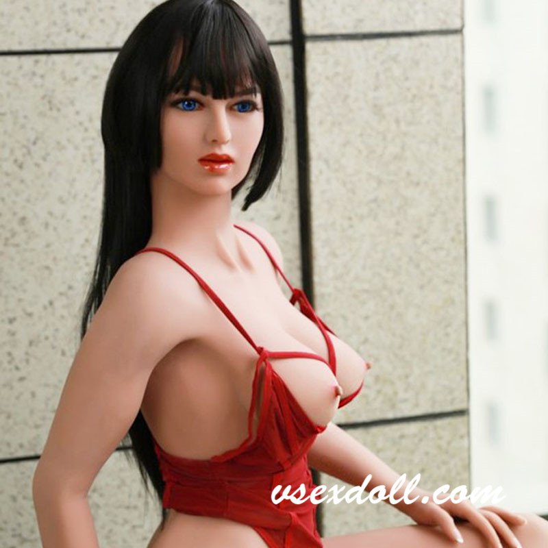 162cm Thick Cock With Blue Eyes Charming Shemale Sex Doll